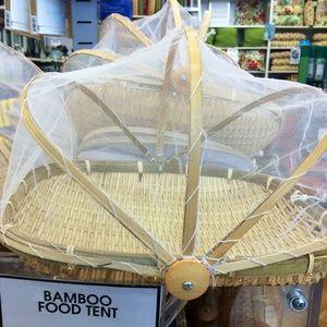 Bamboo Food Tent